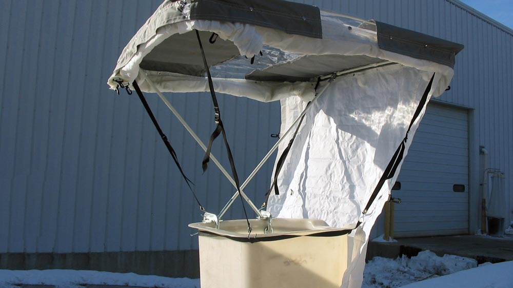 Aerial Tents Amp Bucket Shelters Creative Tent Solutions
