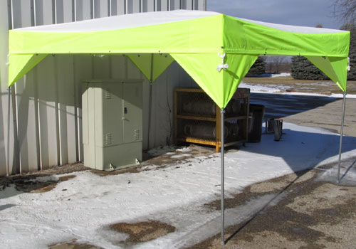 Work Tents And Shelters : Industrial shelter canopy tents creative tent solutions